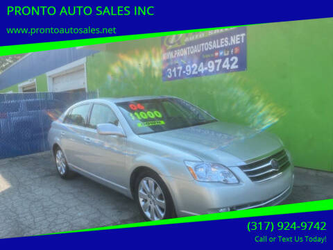 2006 Toyota Avalon for sale at PRONTO AUTO SALES INC in Indianapolis IN