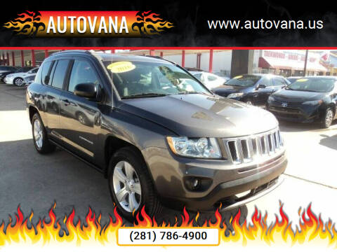 2016 Jeep Compass for sale at AutoVana in Humble TX