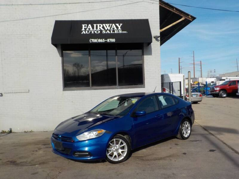 2013 Dodge Dart for sale at FAIRWAY AUTO SALES, INC. in Melrose Park IL