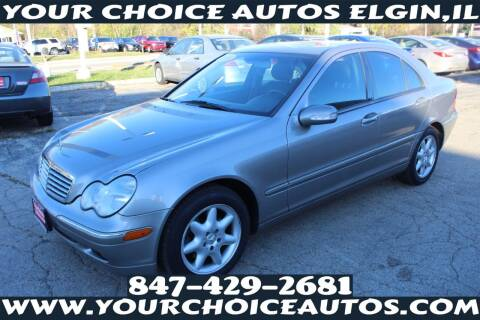 2003 Mercedes-Benz C-Class for sale at Your Choice Autos - Elgin in Elgin IL