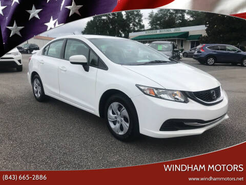 2014 Honda Civic for sale at Windham Motors in Florence SC