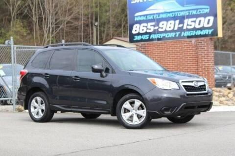 2015 Subaru Forester for sale at Skyline Motors in Louisville TN