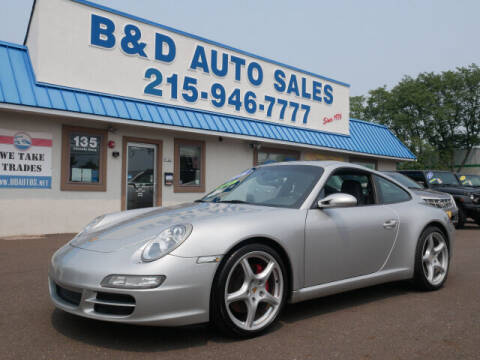 2006 Porsche 911 for sale at B & D Auto Sales Inc. in Fairless Hills PA