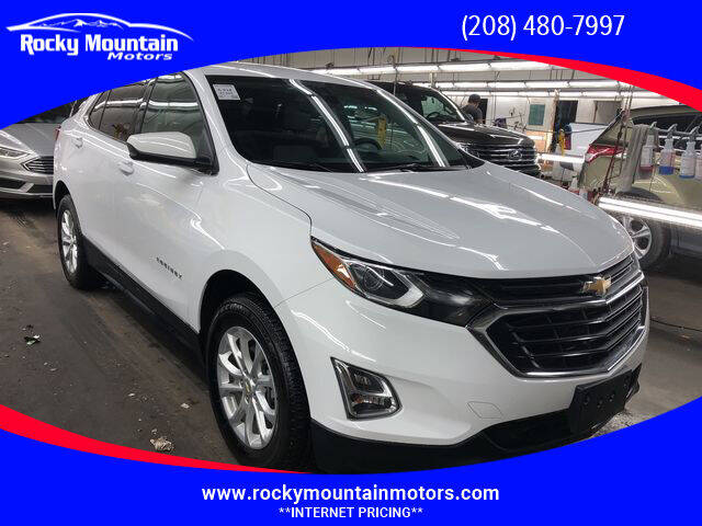 2020 Chevrolet Equinox for sale at Rocky Mountain Motors in Idaho Falls ID