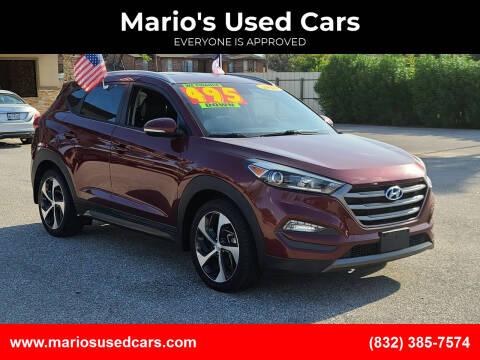 2016 Hyundai Tucson for sale at Mario's Used Cars - Pasadena Location in Pasadena TX