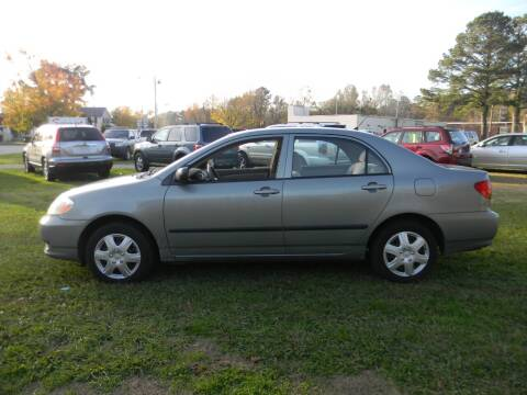 2004 Toyota Corolla for sale at SeaCrest Sales, LLC in Elizabeth City NC