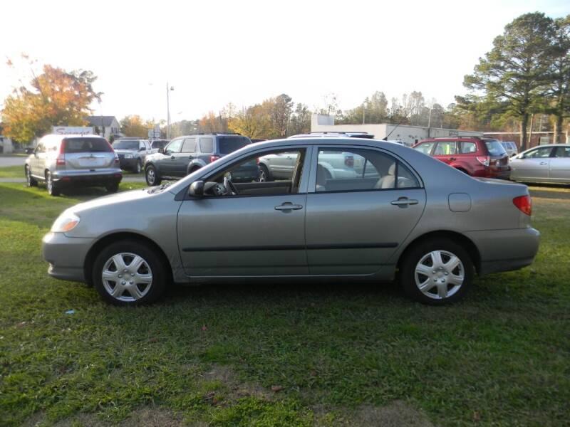 2004 Toyota Corolla for sale at SeaCrest Sales, LLC in Elizabeth City NC