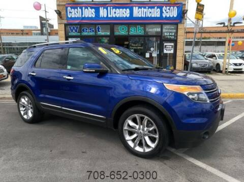 2015 Ford Explorer for sale at West Oak in Chicago IL