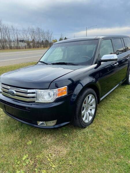 2009 Ford Flex for sale at DAVE KNAPP USED CARS in Lapeer MI