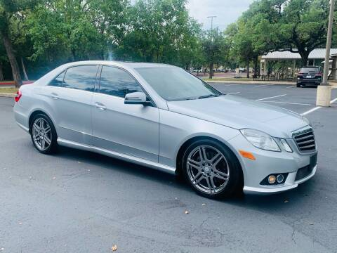 2010 Mercedes-Benz E-Class for sale at Luxury Motorsports in Austin TX