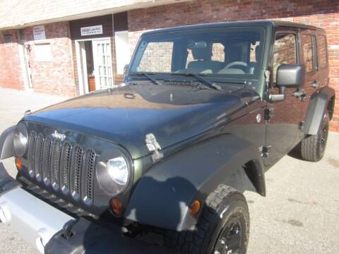 2010 Jeep Wrangler Unlimited for sale at Tewksbury Used Cars in Tewksbury MA