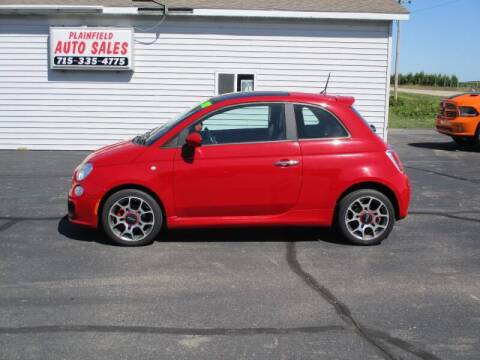2012 FIAT 500 for sale at Plainfield Auto Sales, LLC in Plainfield WI