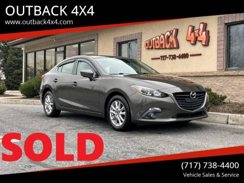 2016 Mazda MAZDA3 for sale at OUTBACK 4X4 in Ephrata PA
