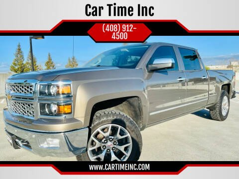 2014 Chevrolet Silverado 1500 for sale at Car Time Inc in San Jose CA