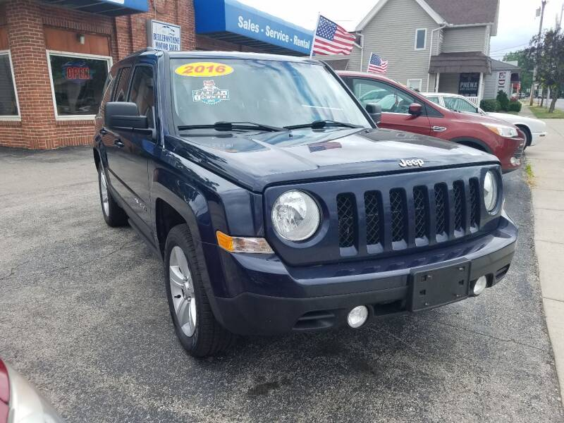 2016 Jeep Patriot for sale at BELLEFONTAINE MOTOR SALES in Bellefontaine OH