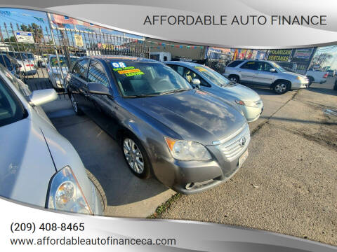 2008 Toyota Avalon for sale at Affordable Auto Finance in Modesto CA