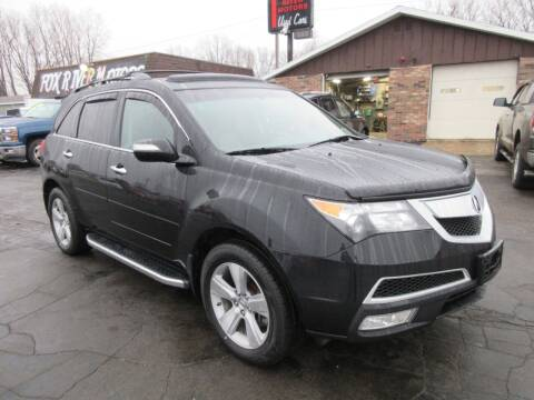 2010 Acura MDX for sale at Fox River Motors in Green Bay WI