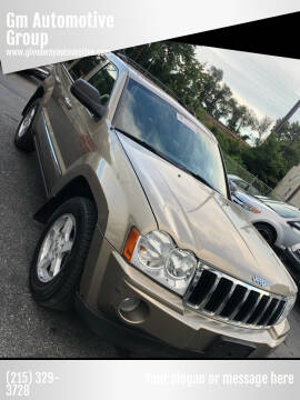 2006 Jeep Grand Cherokee for sale at GM Automotive Group in Philadelphia PA