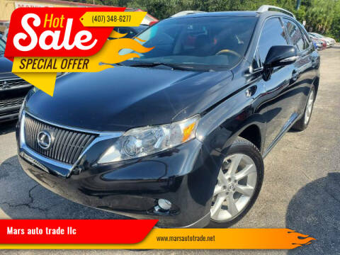 2010 Lexus RX 350 for sale at Mars auto trade llc in Kissimmee FL