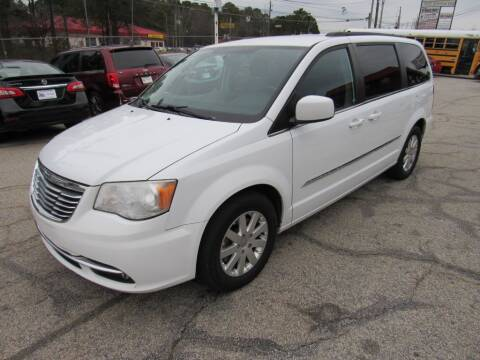 2015 Chrysler Town and Country for sale at King of Auto in Stone Mountain GA