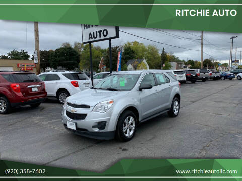 2012 Chevrolet Equinox for sale at Ritchie Auto in Appleton WI