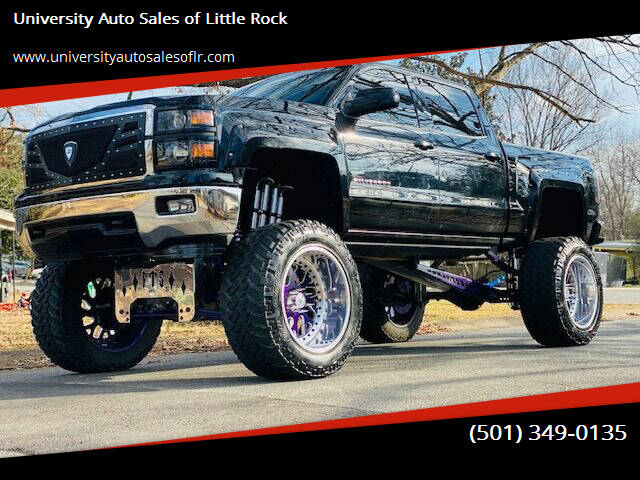 2015 Chevrolet Silverado 1500 for sale at University Auto Sales of Little Rock in Little Rock AR
