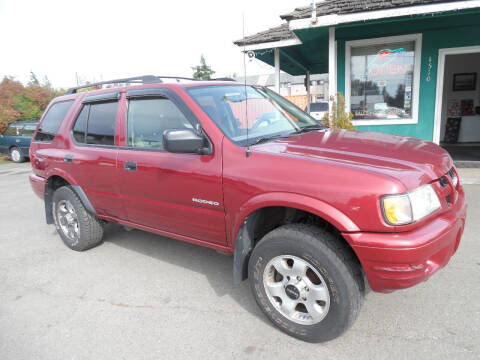 2004 Isuzu Rodeo for sale at Gary's Cars & Trucks in Port Townsend WA