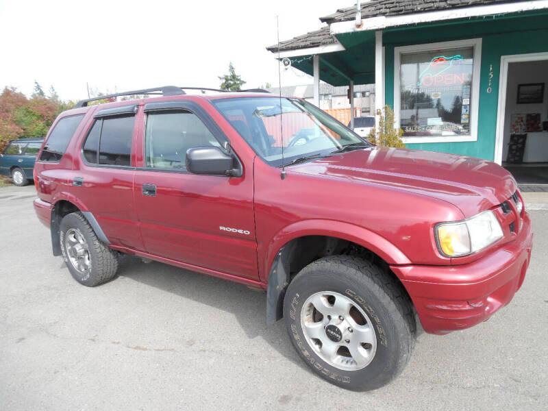 2004 Isuzu Rodeo for sale at Gary's Cars & Trucks in Port Townsend WA