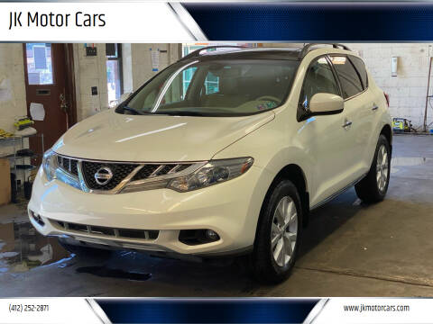2012 Nissan Murano for sale at JK Motor Cars in Pittsburgh PA