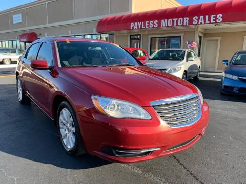 2014 Chrysler 200 for sale at Payless Motor Sales LLC in Burlington NC