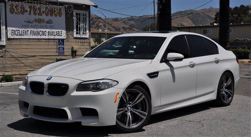2013 BMW M5 for sale at AMC Auto Sales, Inc. in Fremont CA