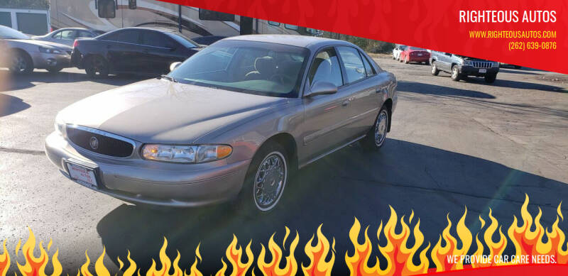 2001 Buick Century for sale at Righteous Autos in Racine WI