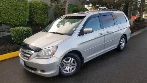 2006 Honda Odyssey for sale at SS MOTORS LLC in Edmonds WA