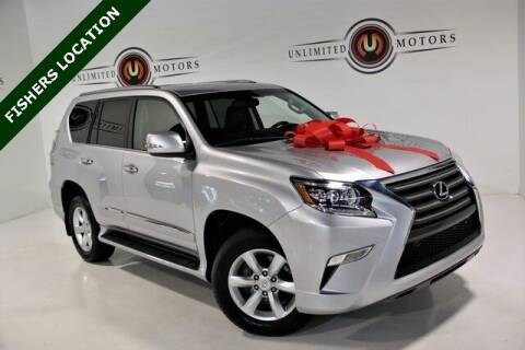 2018 Lexus GX 460 for sale at Unlimited Motors in Fishers IN