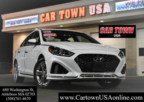2018 Hyundai Sonata for sale at Car Town USA in Attleboro MA