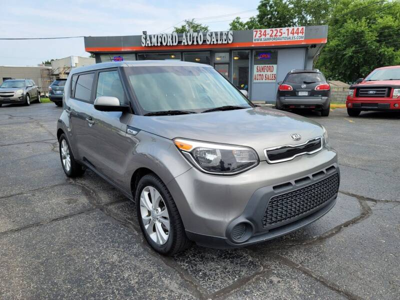 2015 Kia Soul for sale at Samford Auto Sales in Riverview MI