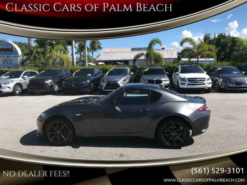 2017 Mazda MX-5 Miata RF for sale at Classic Cars of Palm Beach in Jupiter FL