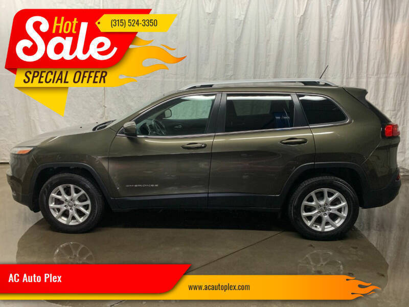 2015 Jeep Cherokee for sale at AC Auto Plex in Ontario NY