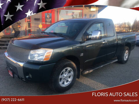 2004 Nissan Titan for sale at FLORIS AUTO SALES in Anchorage AK