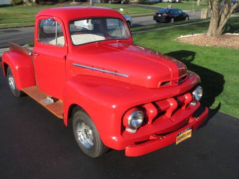 1952 Ford F-100 for sale at Island Classics & Customs in Staten Island NY