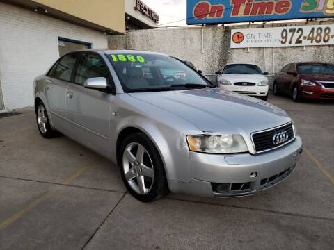 2005 Audi A4 for sale at Best Royal Car Sales in Dallas TX