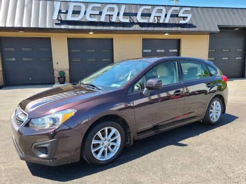 2012 Subaru Impreza for sale at I-Deal Cars in Harrisburg PA