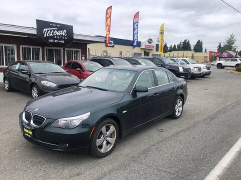 2008 BMW 5 Series for sale at Tacoma Autos LLC in Tacoma WA