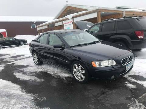 2006 Volvo S60 for sale at Cannon Falls Auto Sales in Cannon Falls MN