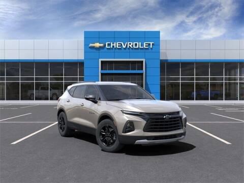 2021 Chevrolet Blazer for sale at Bob Clapper Automotive, Inc in Janesville WI