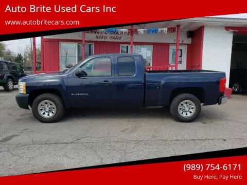 2010 Chevrolet Silverado 1500 for sale at Auto Brite Used Cars Inc in Saginaw MI