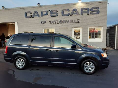 2009 Chrysler Town and Country for sale at Caps Cars Of Taylorville in Taylorville IL