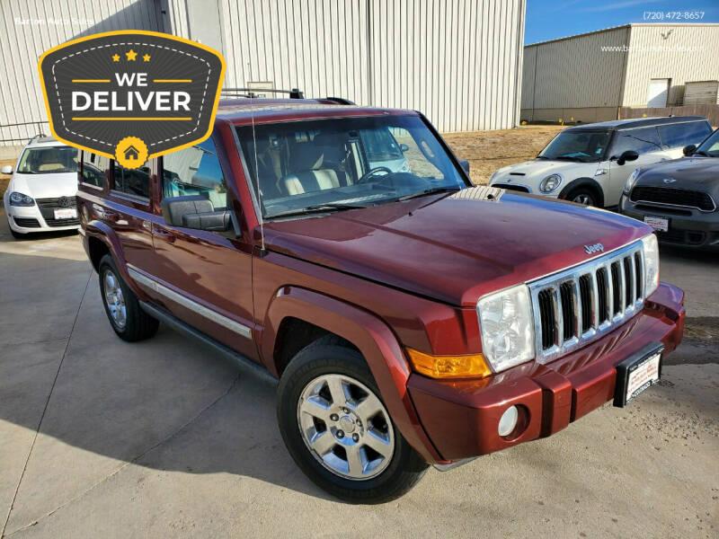 2007 Jeep Commander for sale at Barton Auto Sales in Longmont CO