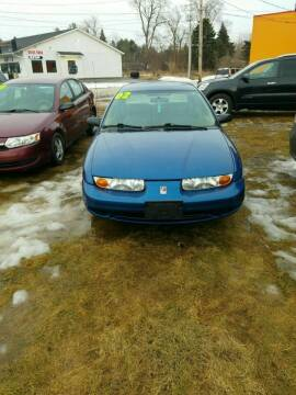 2002 Saturn S-Series for sale at Fansy Cars in Mount Morris MI