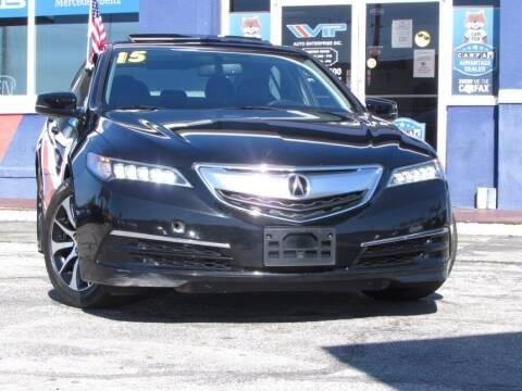 2015 Acura TLX for sale at VIP AUTO ENTERPRISE INC. in Orlando FL